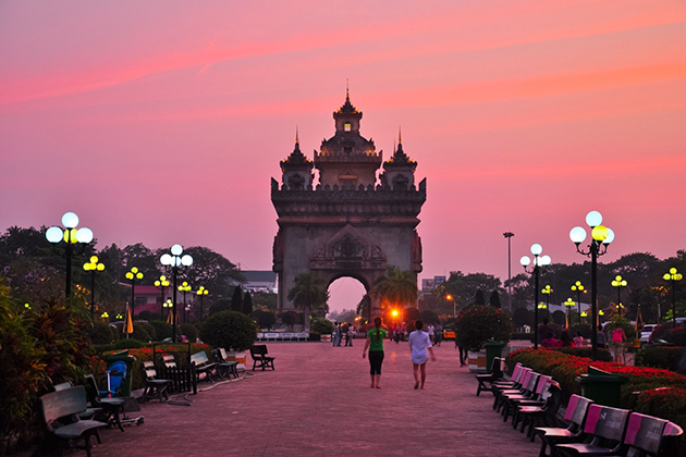 Best time to visit Vientiane Laos