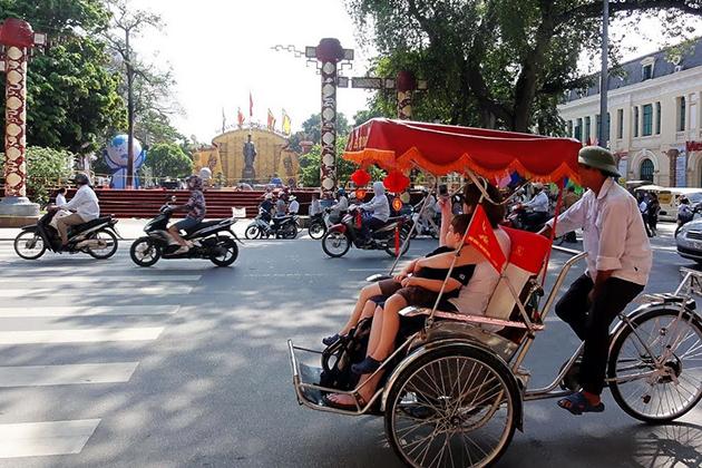 Cyclo - a part of Vietnamese culture