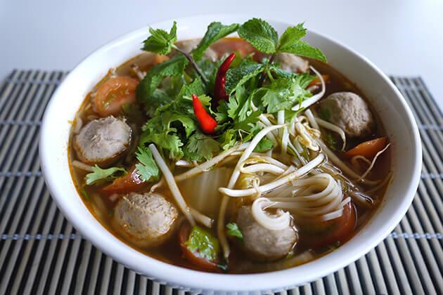 Laos Noodle - Street Foods in Laos