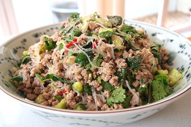 Larb Dish Laos Must Try Street Food