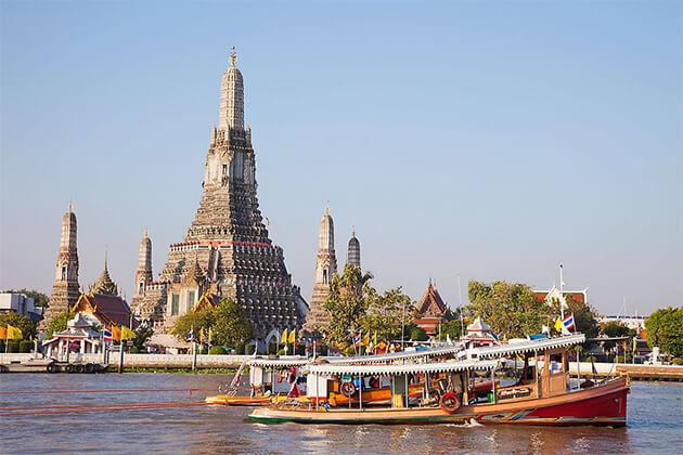 Wat Arun 25 day southeast asia tour