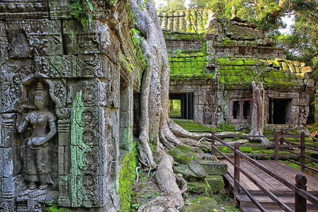 angkor wat - 16 day indochina tour package