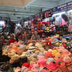 dong xuan market indochina tours