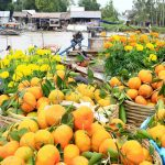 floating market mekong delta indochina tours