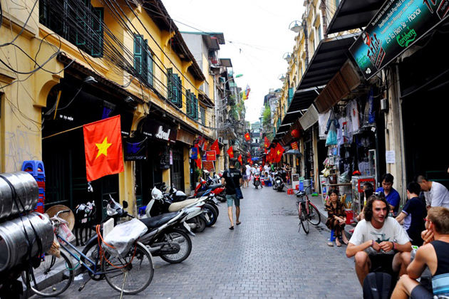 hanoi old quarters vietnam cambodia 16 days