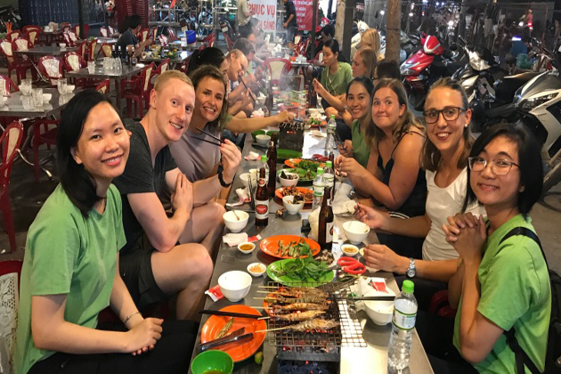 ho chi minh street food tours to indochina 29 days