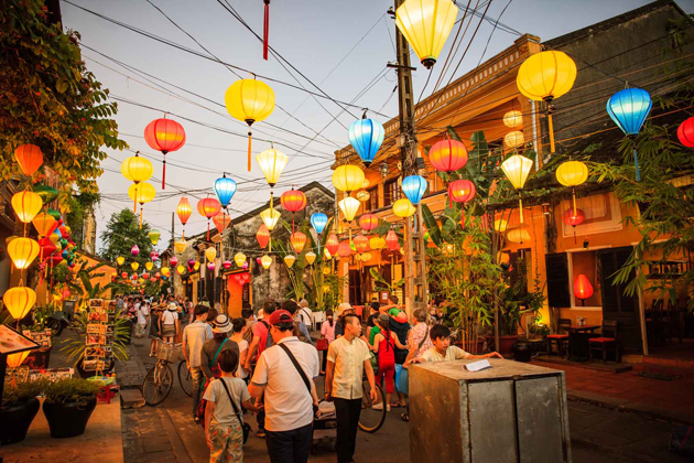 colorful hoian ancient town indochina grand discovery tour