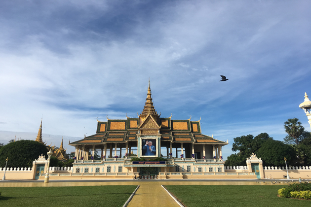 royal palace phnom penh indochina tours