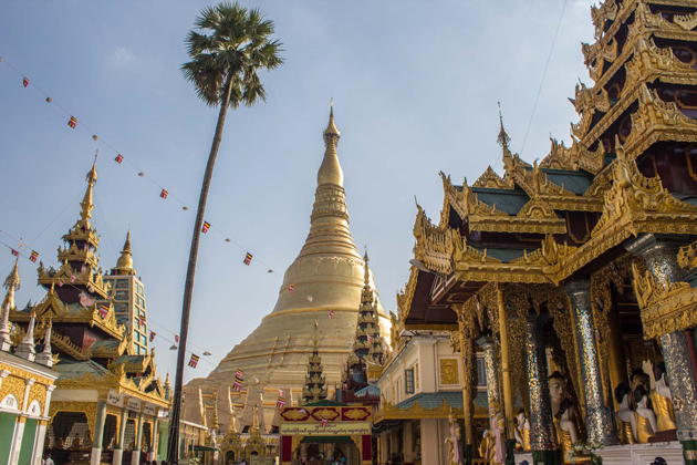 shwedagon pagoda glories southeast asia 25 days