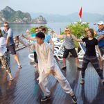tai chi halong bay indochina tours