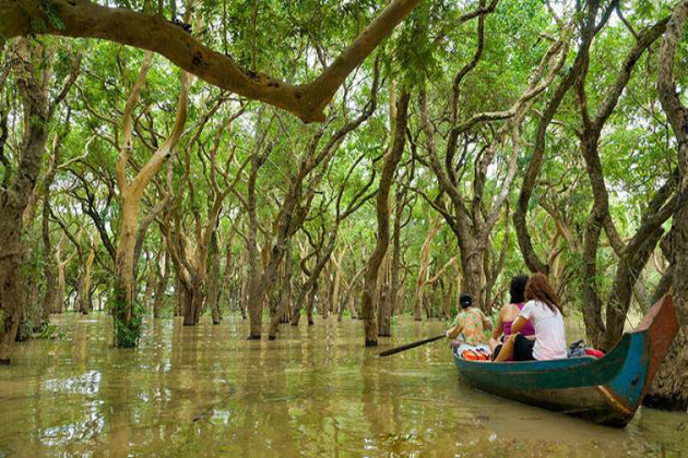 tonle sap lake southeast asia tour package 25 days