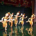 water puppet show indochina tours