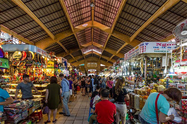 Ben Thanh Market Saigon - Indochina Family Tours