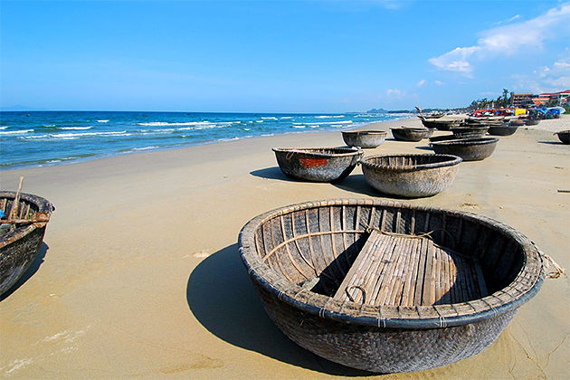 China Beach Danang - Vietnam Laos 16 Day Tour