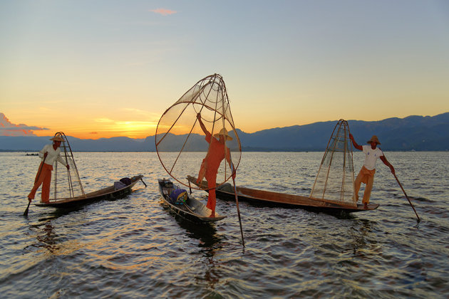 Inle Lake Myanmar Southeast Asia Vacations