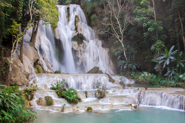 Khouang Si Waterfall - 16 Day Tour in Cambodia Laos