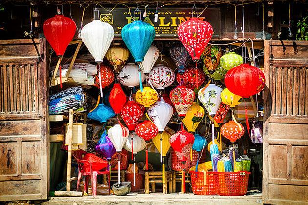 Lantern Making Class in Hoian Indochina Tours