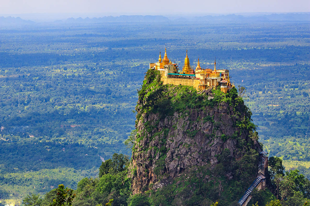 Mount Popa Myanmar - 25 Day Southeast Asia Tour