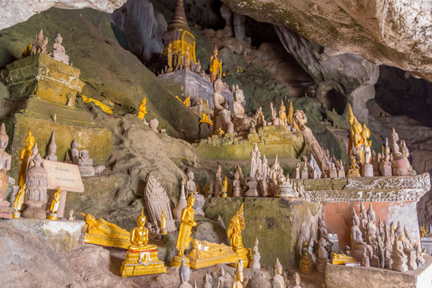 Pak Ou Caves indochina tours