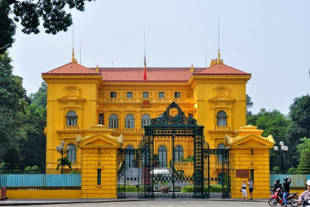 President Palace Vietnam - 25 Days in Southeast Asia