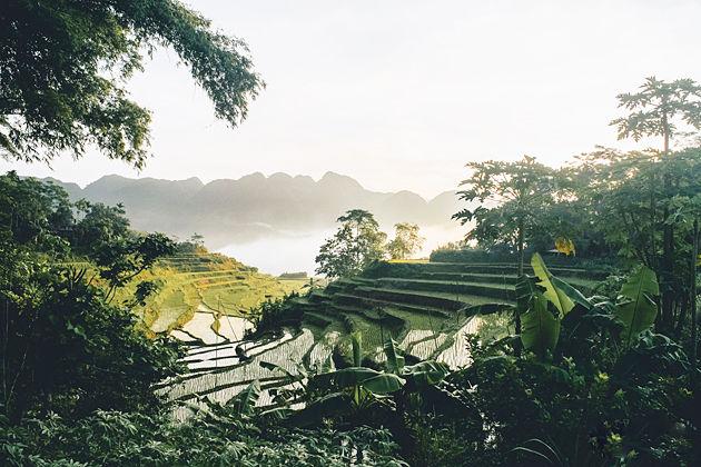 Pu Luong, Vietnam, Indochina