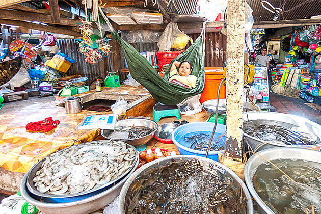 Russian Market Phnom Penh Indochina Tours