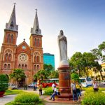 Saigon Notre Dame Cathedral indochina tours