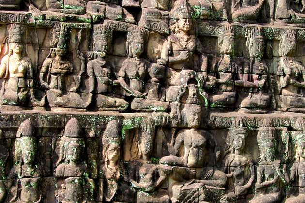 Terrace of the Leper King Cambodia - Tours to Southeast Asia 25 Days