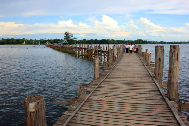 U Bein Bridge Myanmar Southeast Asia 25 Day Tour