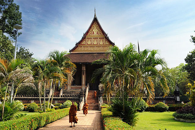 Wat Phra Keo - Tours to Vietnam and Laos 15 Days