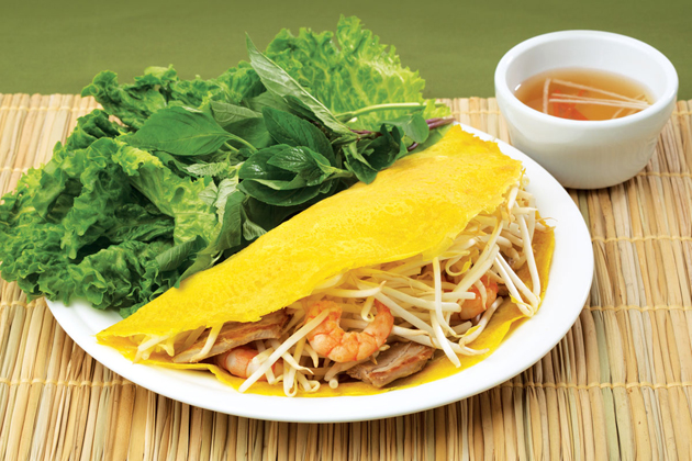 Banh Xeo Ho Chi Minh Cuisine - Southeast Asia Vacation 25 Days