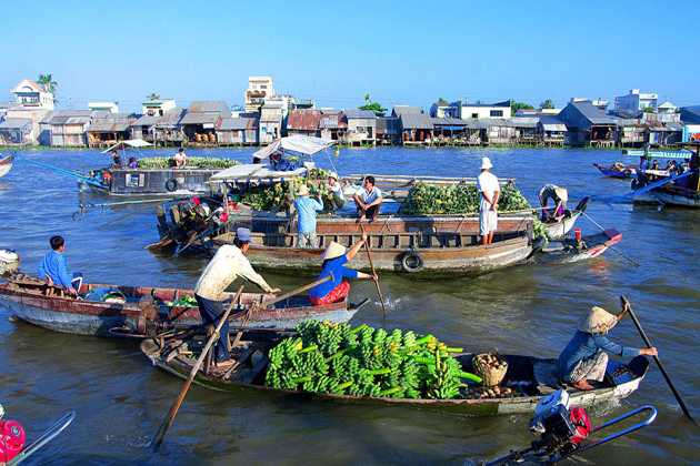 The Upgrade of Cai Rang Floating Market Will be Completed Next Year