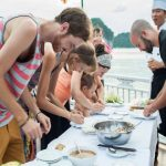 halong bay cooking class indochina tours