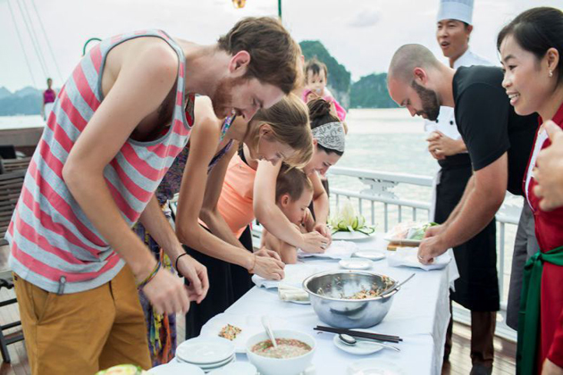 Cooking Class Halong Bay Indochina Trips