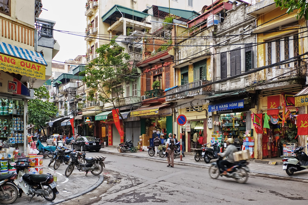Hanoi Old Quarter - Vietnam Laos 16 Day Trip