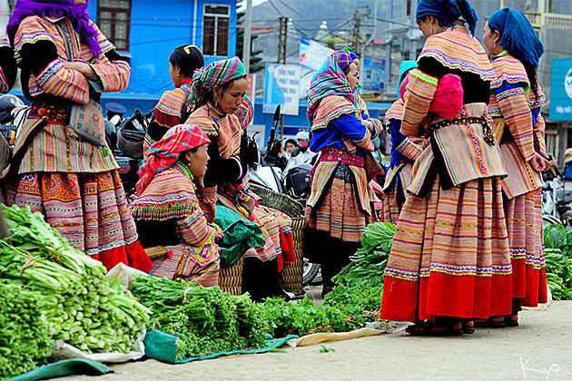 Bac Ha Market - Tour to Vietnam Cambodia Laos 26 Days