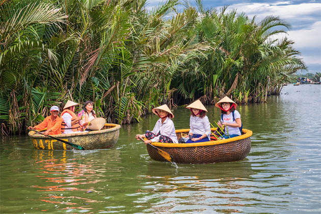Bamboo Boat Hoi An Vietnam Cambodia Trip
