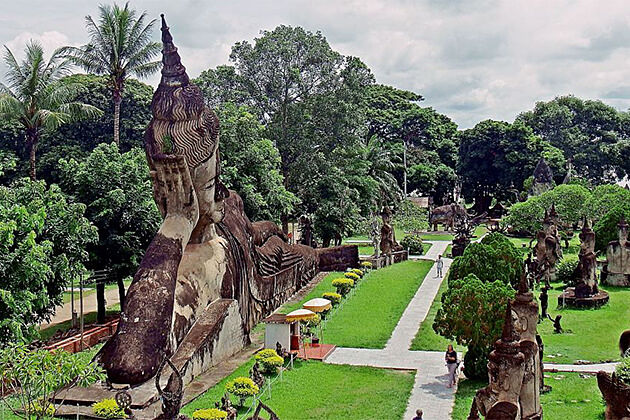 Buddha Park Vientiane Indochina Trips