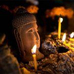 Buddha Statue in Pak Ou Cave