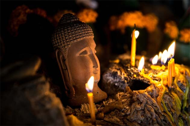 Buddha Statue in Pak Ou Cave - 20 Day Itinerary in Indochina
