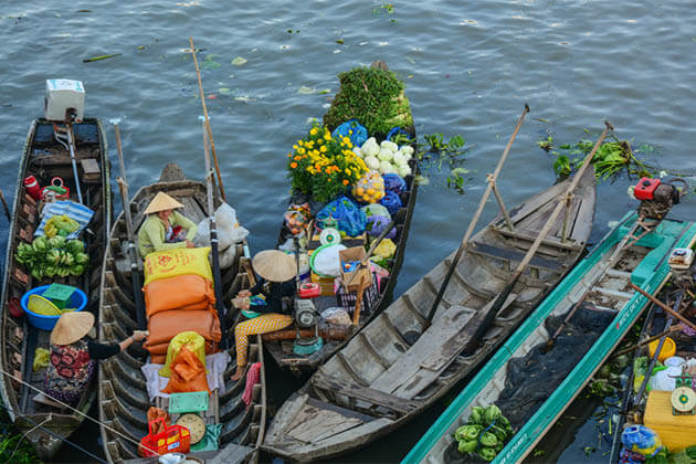 Cai Be Floating Market - Tours to Vietnam Cambodia