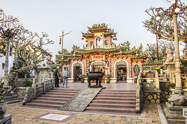 Chinese Assembly Halls Hoi An Indochina Trips