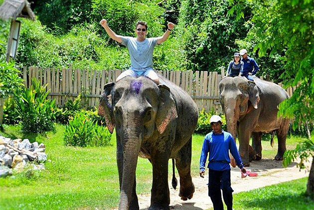 Elephant Village Camp - Trip to Indochina 26 Days
