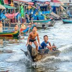Floating Village on Kampong Phluk - Cambodia Laos Mekong River Tour