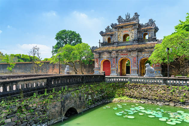 Gate to the Imperial Citadel Hue