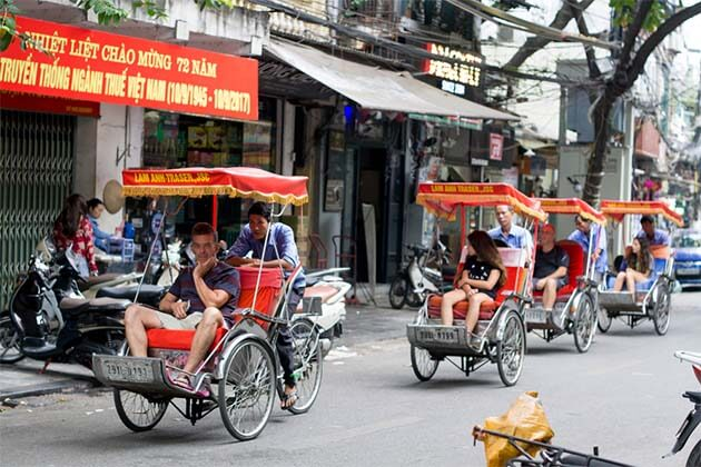 Hanoi Cyclo Tour Untouch Indochina 20 Days