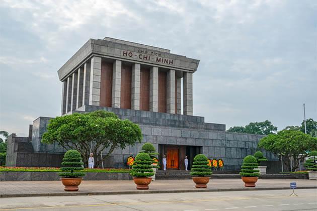 Ho Chi Minh Mausoleum - Vietnam Cambodia Tour Package