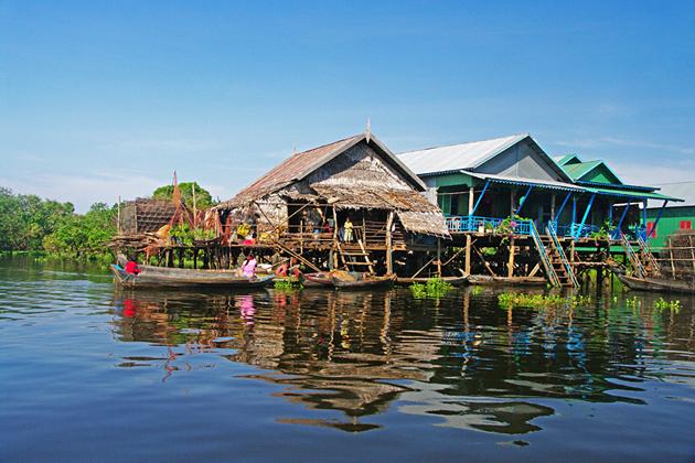 Kompong Phluk - Cambpdia Laos 9 Day Trip