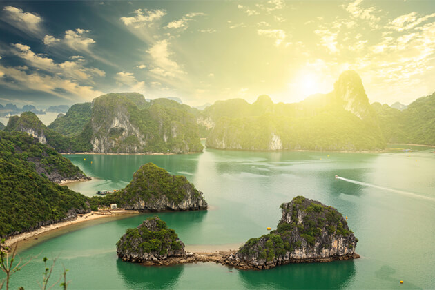 Morning in Halong Bay Indochina Tours
