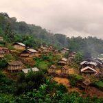 Panorama of Muang Khua